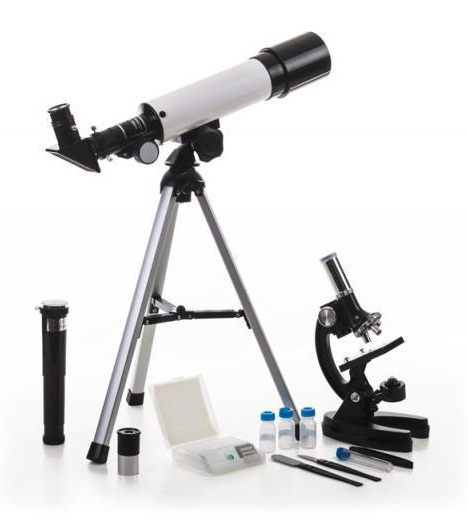 Набор Velvi в кейсе: телескоп 360/50