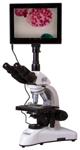 Микроскоп цифровой Levenhuk MED D25T LCD, тринокулярный