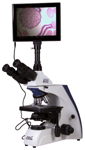Микроскоп цифровой Levenhuk MED D30T LCD, тринокулярный