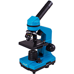 Микроскоп Levenhuk Rainbow 2L PRO Azure\Лазурь