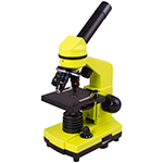 Микроскоп Levenhuk Rainbow 2L PRO Lime\Лайм