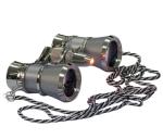 Бинокль Levenhuk Broadway 325F с подсветкой и цепочкой, серебряный