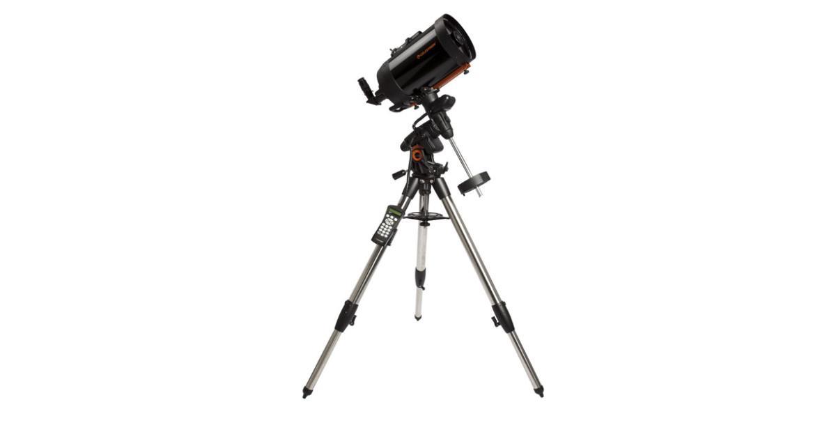 телескоп с автонаведением и фотоаппаратом вместо вечеров